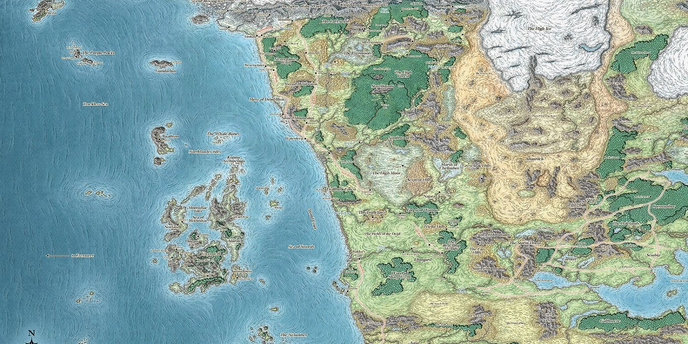 Why D&D Dungeon Masters Actually Need To Make Maps   Screen Rant