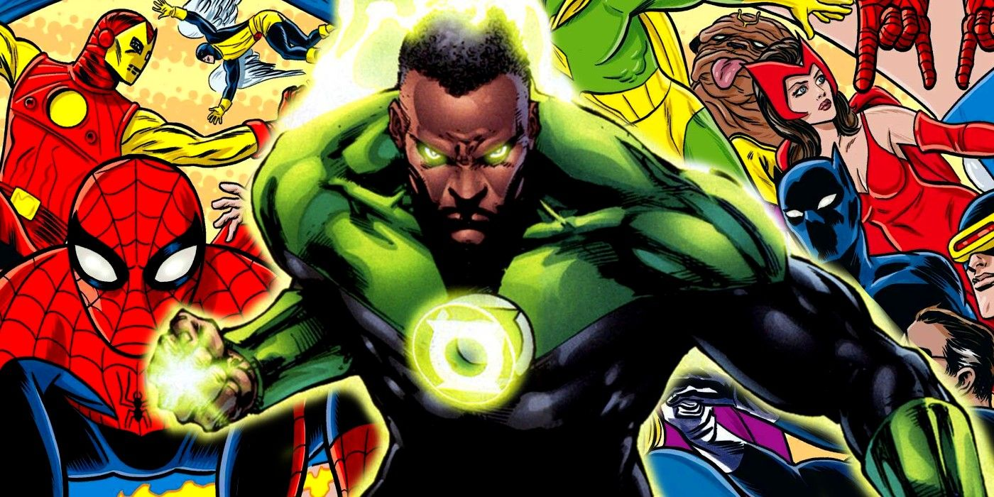 Green Lantern Makes the Key Difference Between DC and Marvel Official