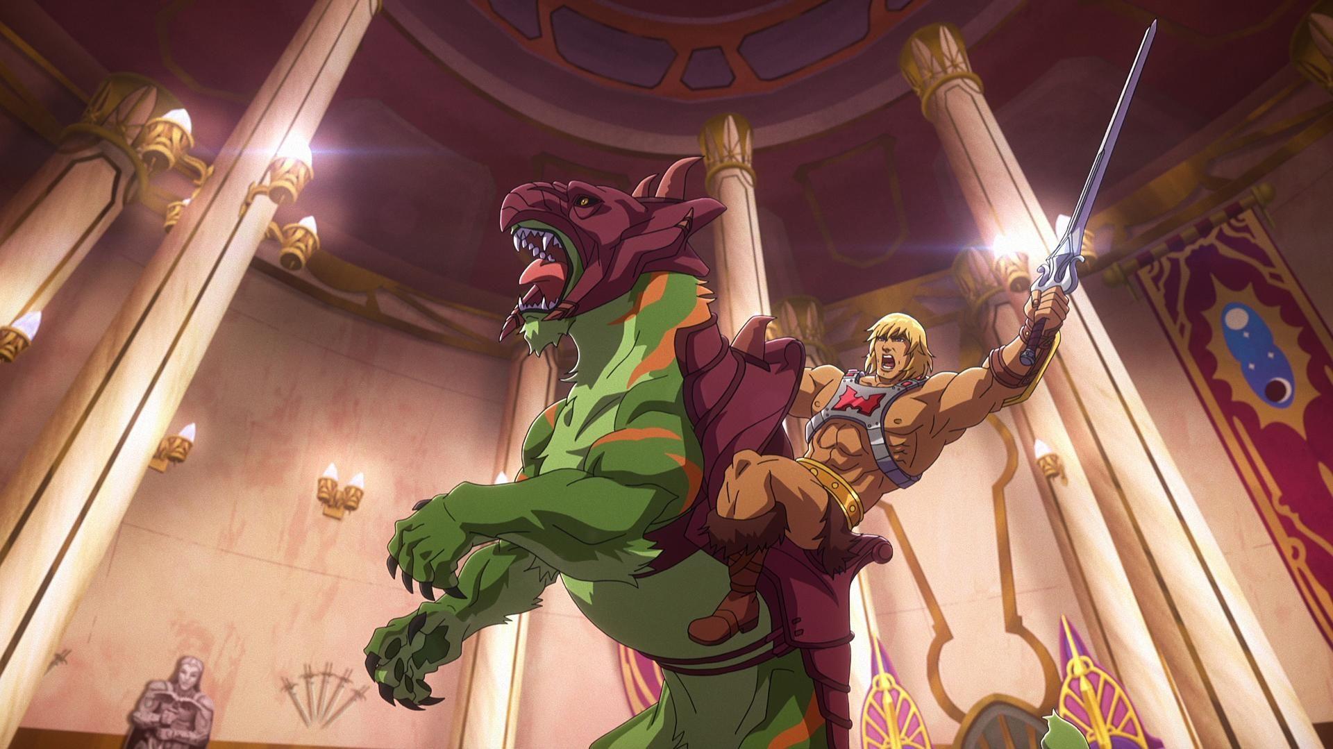 Mestres do Universo: Imagens de análise inicial revelam He-Man e Skeletor 1