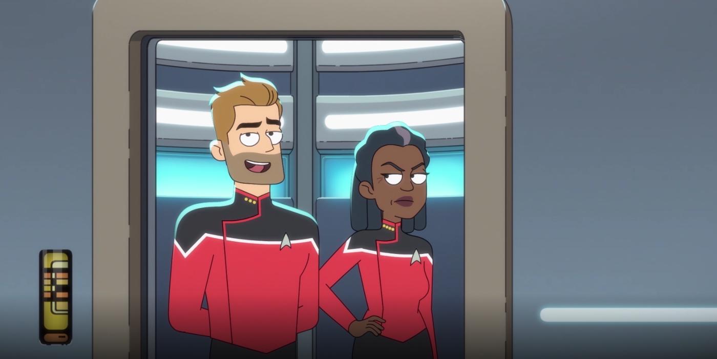 Star Trek Lower Decks Exclusive Clip: Kirk & Spock's Secret Cameo Revealed