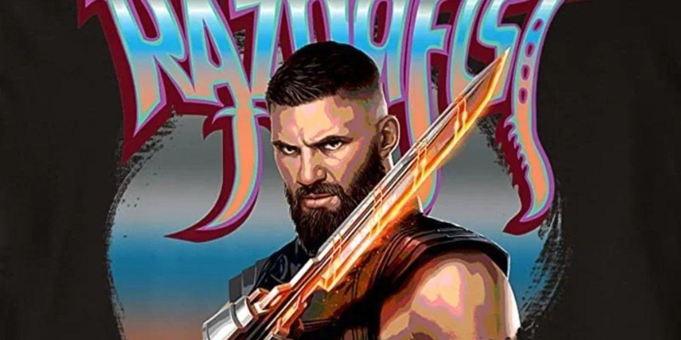 New Shang-Chi Movie Art Gives Detailed Look at the Villain Razor Fist