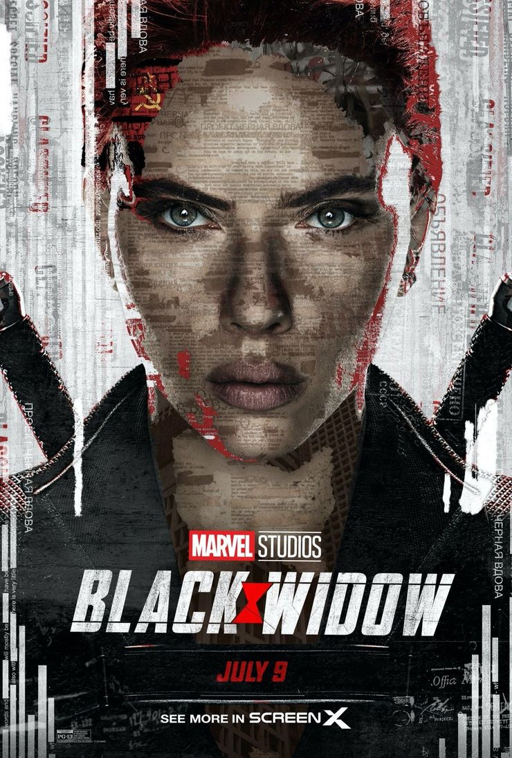 Black Widow Movie Poster Teases Her Mysterious Past | Screen Rant