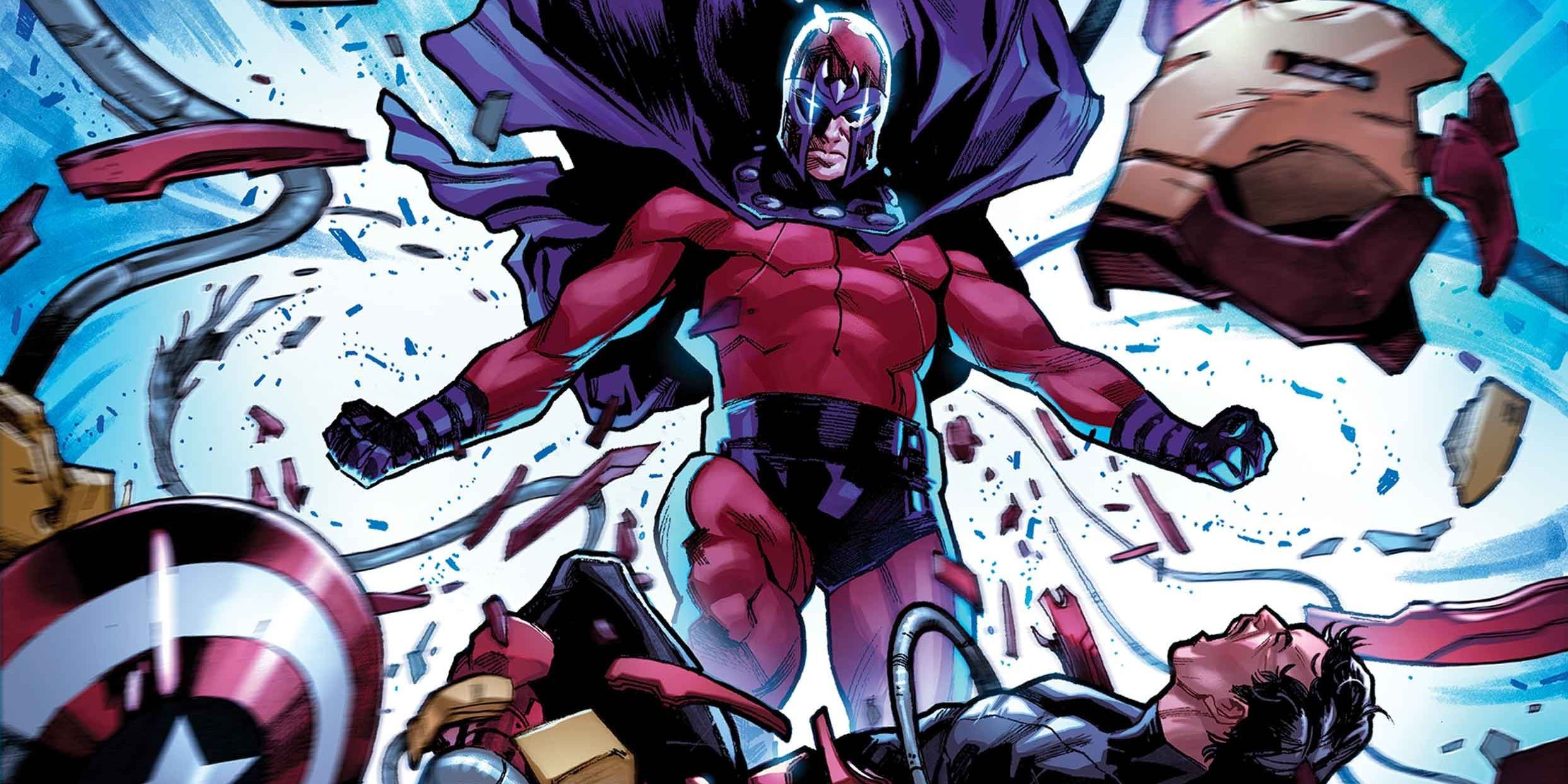 Trial of Magneto Teaser Hints At X-Males Versus Avengers