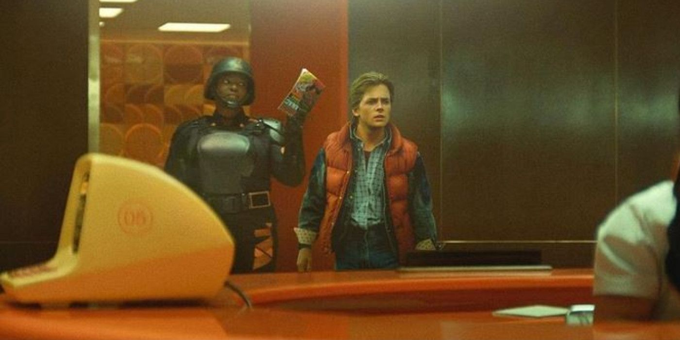 The TVA Arrest Marty McFly in Loki and Back To The Future Mash-Up