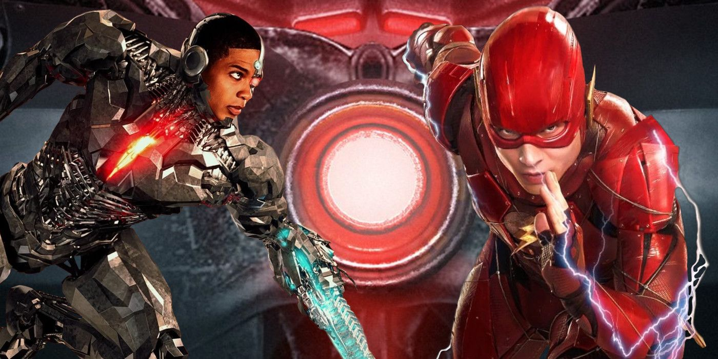 Flash Movie Art Imagines Cyborg is Back in the Speedster's Solo Film