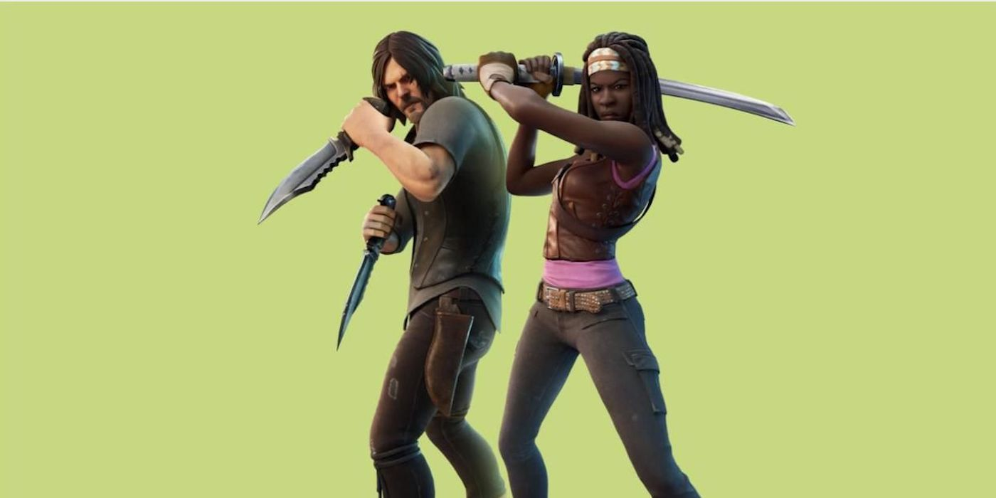 A Fortnite Collaboration With the Walking Dead Could Be Coming, Per Leak