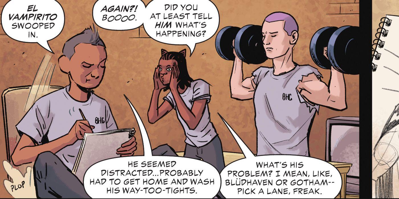 DC admite que seus heróis estão muito apertados 1