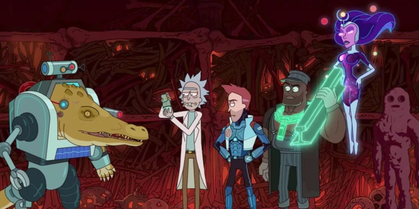 Rick & Morty Season 5 Almost Cast Chris Evans | Screen Rant
