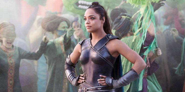 Valkyrie played by Tessa Thompson