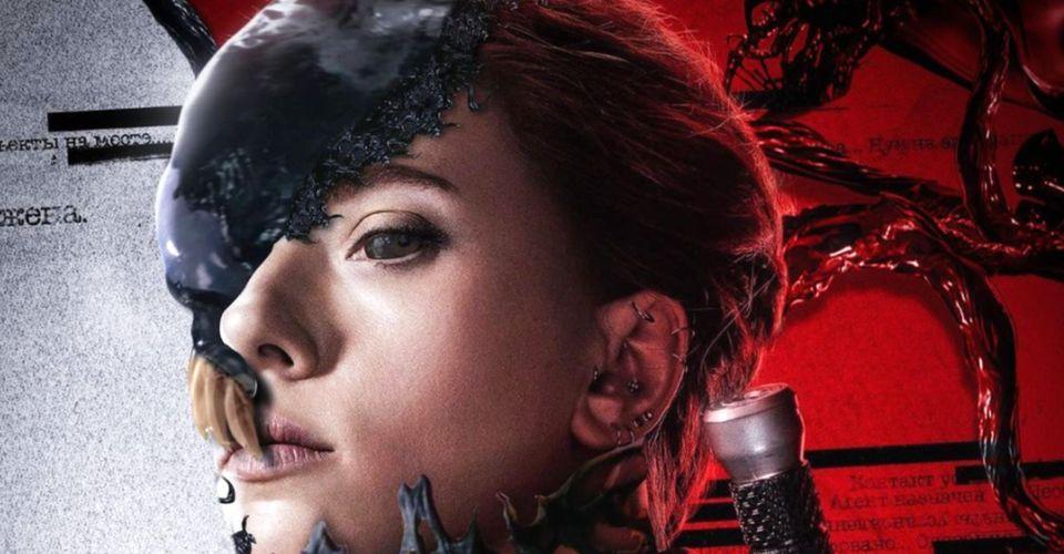 Black Widow/Venom Crossover Art Sees Natasha Merging With the Symbiote