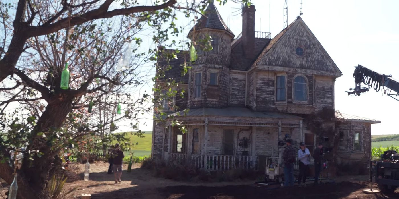 Ghostbusters: Afterlife Video Offers BTS Look At Egon's Farmhouse