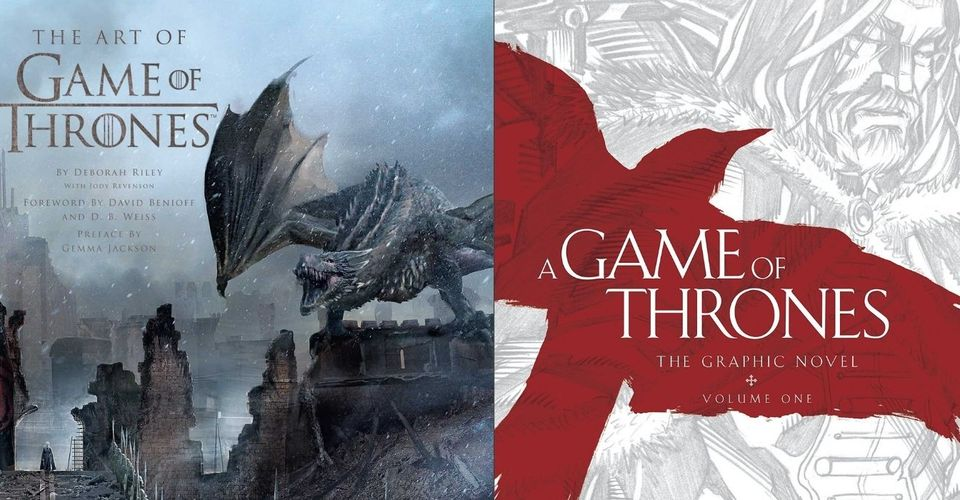 Unlike earlier, now all the issues can be bought in collectible hardcover editions, like in A Games of Thrones: The Graphic Novels.