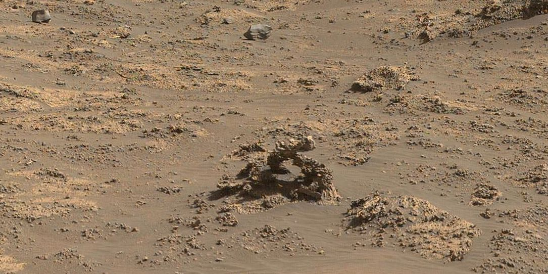 Mars Worms? New Rover Photo Reveals Tiny, Peculiar Rock Formation