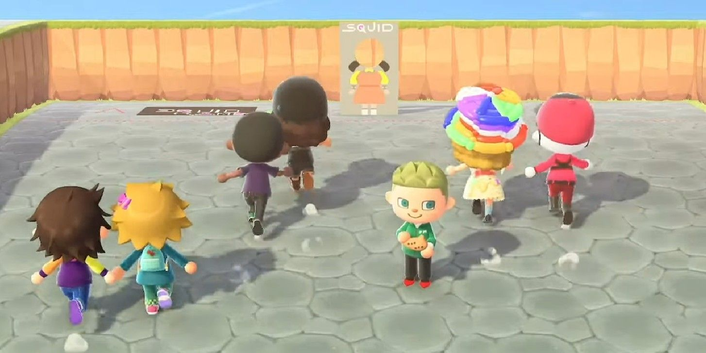 Animal Crossing Streamer Hosts Squid Game With Big Bells Prize