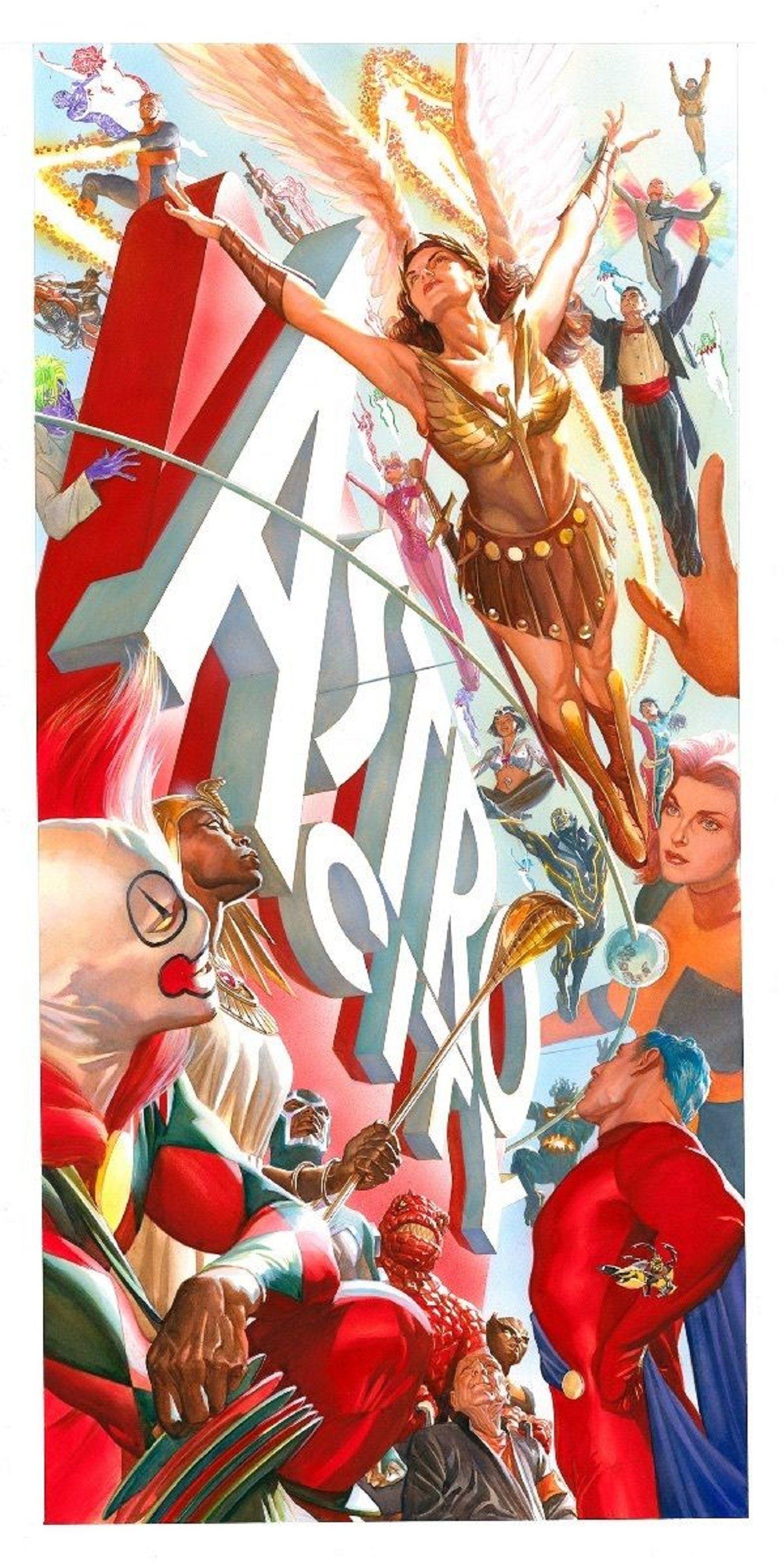 Kurt Busiek to write new Arrowsmith, Astro City Comics for the picture
