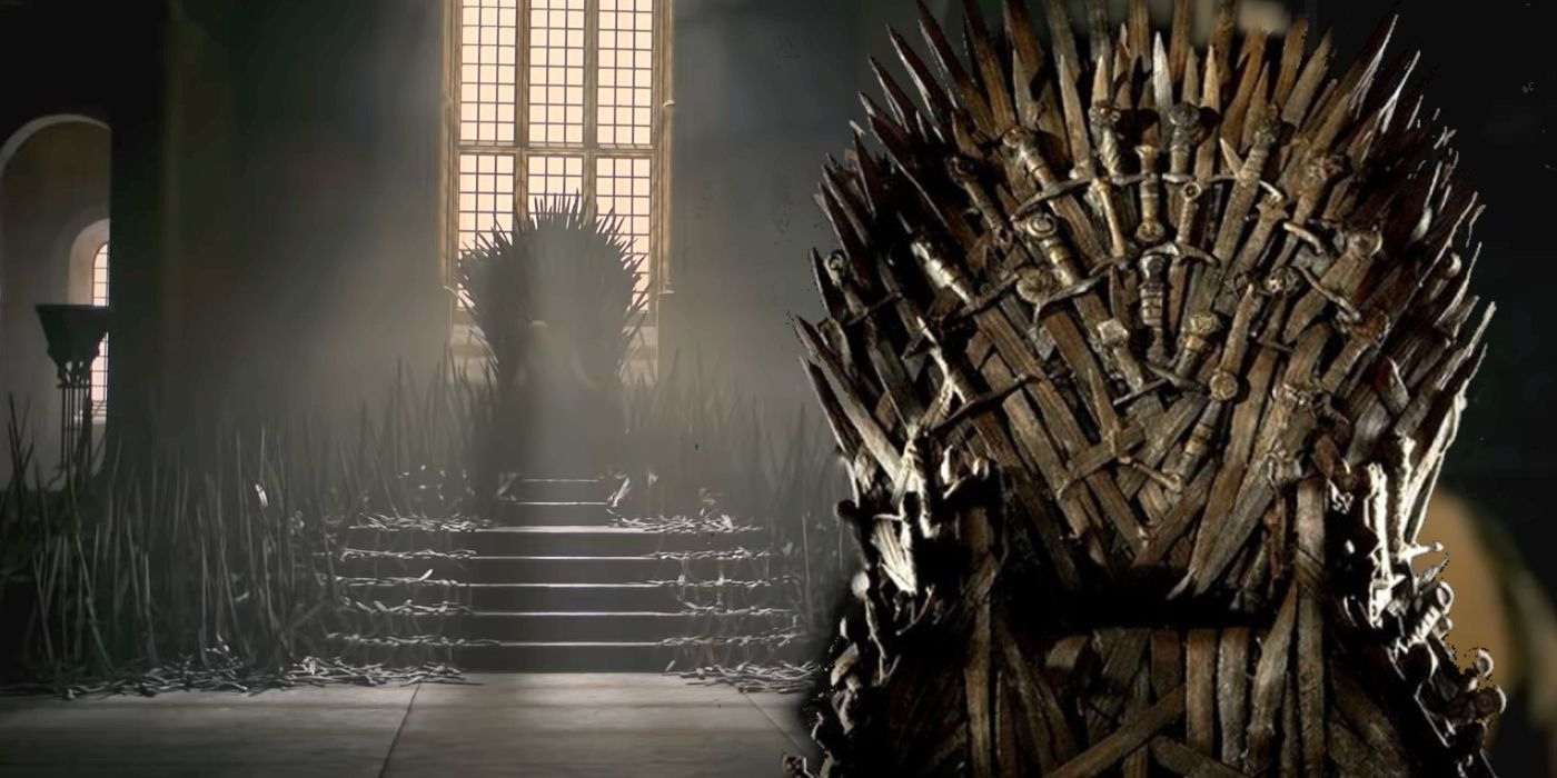 House Of The Dragon Is Fixing Game Of Thrones  Iron Throne Mistake