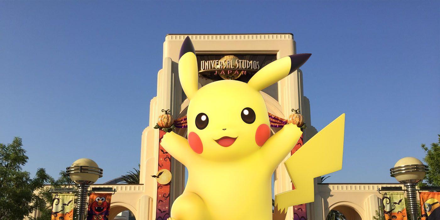 Pokémon Universal Studios Japan Partnership announced