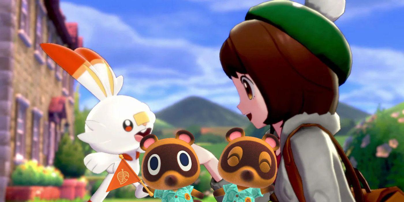 Animal Crossing Player Recreates The Pokémon Sword & Shield Bedroom