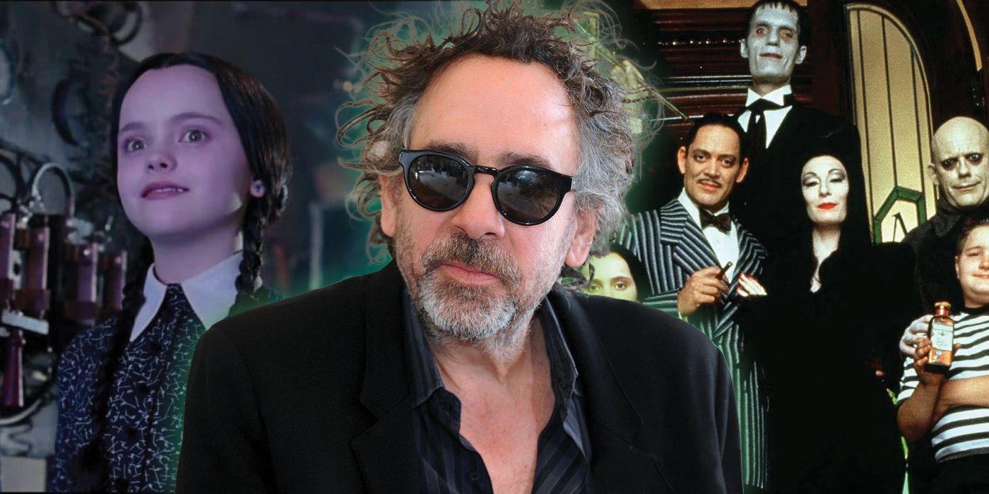 Tim Burton Turned Down Directing The 1991 Addams Family Movie