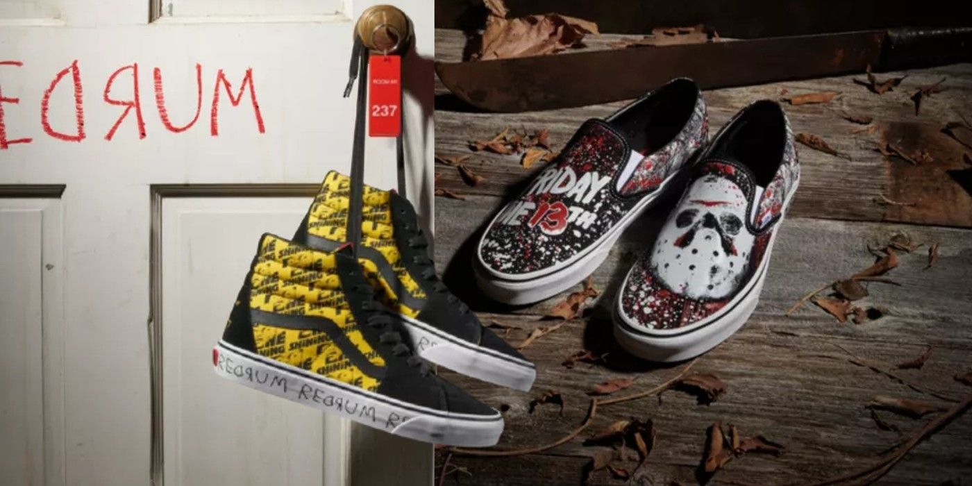 Vans Horror Movie Shoes Collection: The Shining, Jason, Freddy, & More