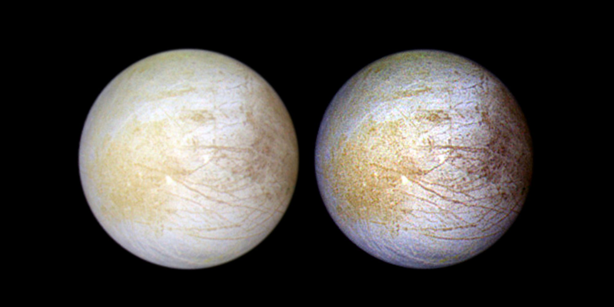<div>Hidden Water Vapor Was Just Discovered On Europa's Icy Surface</div>