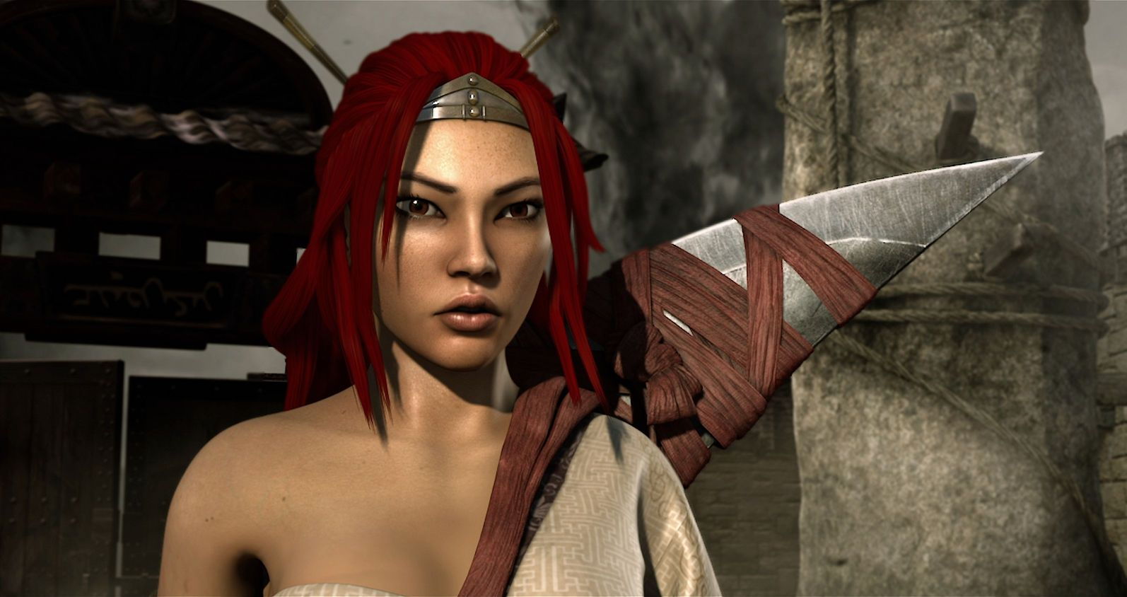 Heavenly Sword Trailer Video Game Cut Scene Turned Animated Feature