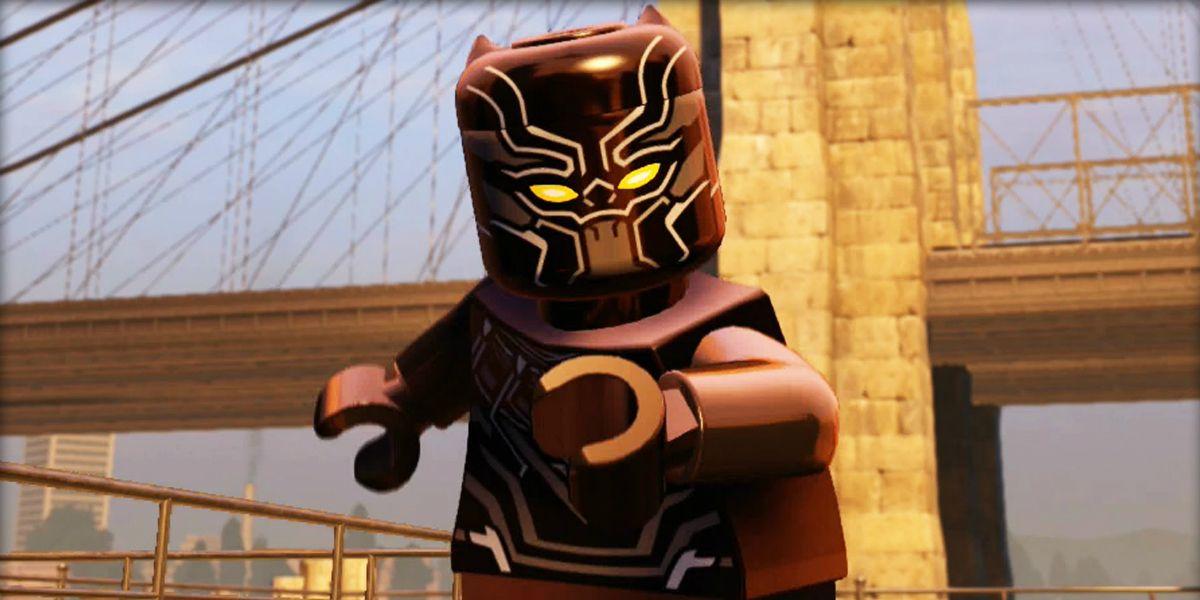 LEGO Marvel's Avengers DLC Includes Black Panther & Doctor