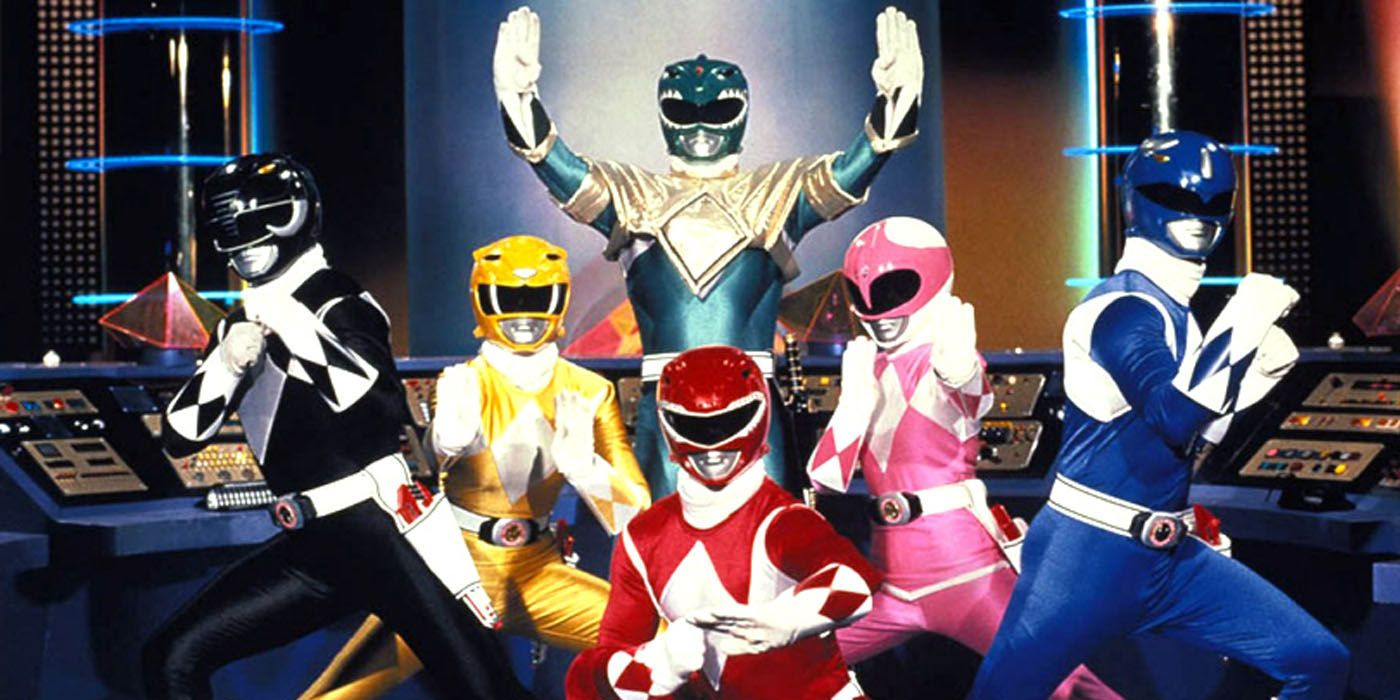Every Power Rangers Suit Ever Created For Movies And Television