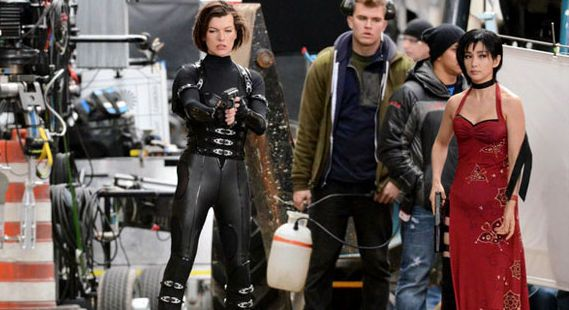Resident Evil 5 Set Photo Video Ada Wong In Full Costume