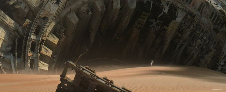 Star Wars The Force Awakens Concept Art Reveals Alternate Bb 8 Designs