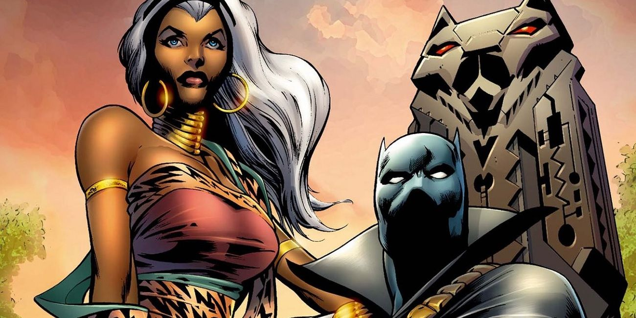 Black Panther 20 Things You Didn T Know About Storm And S Relationship