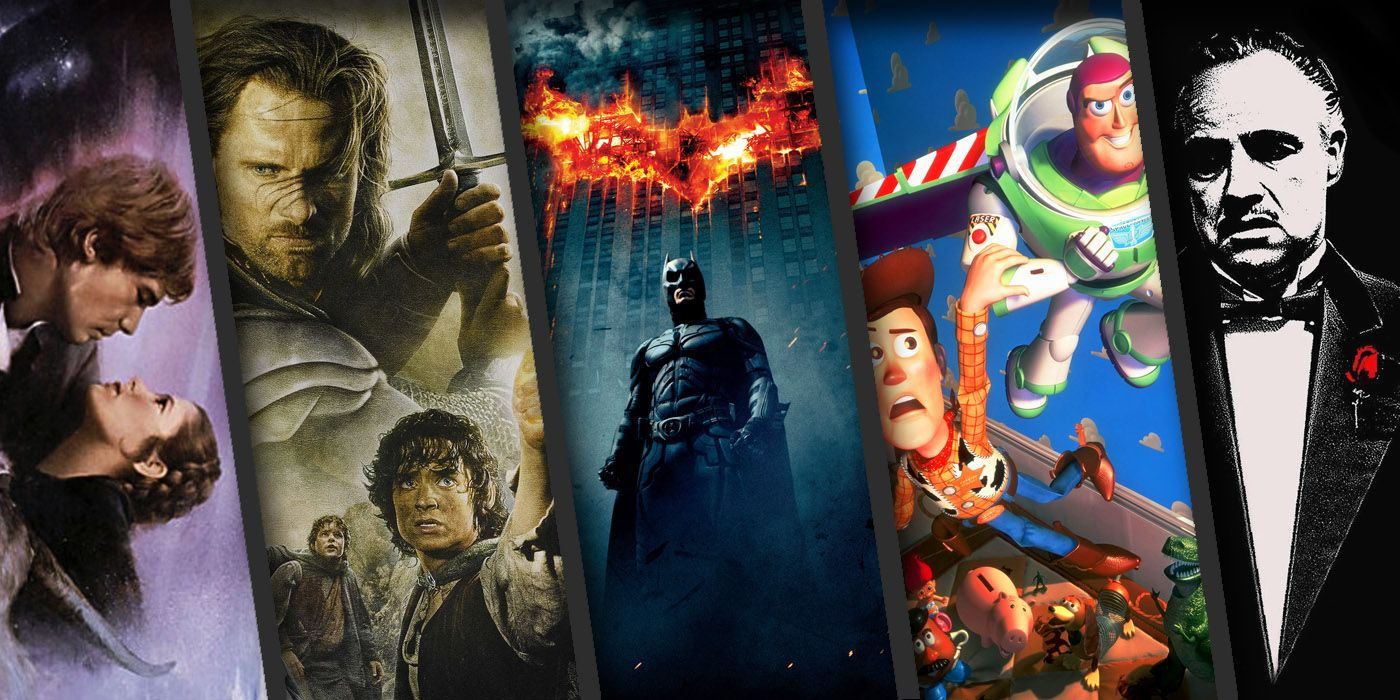 the best movie trilogies of all time screenrant