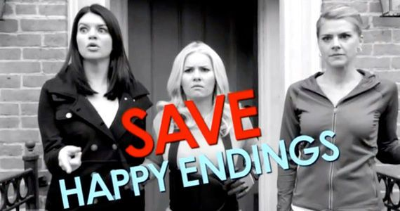 ABC Asks Viewers to Help Save 'Happy Endings' - Will it Work?