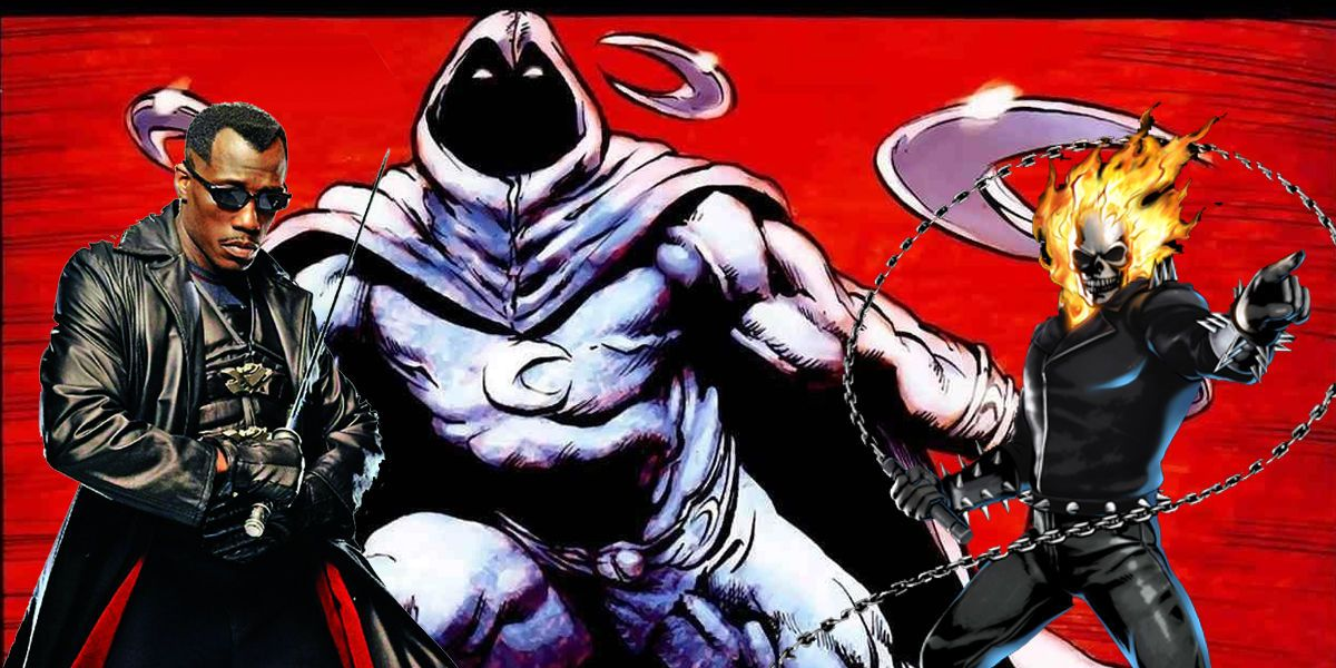 Moon Knight, Blade, and Ghost Rider Netflix Series In