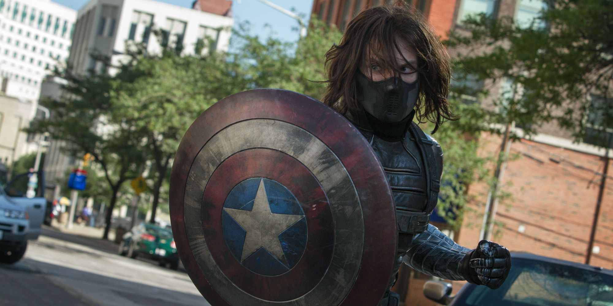 Sebastian Stan Teases Fans With Captain America Shield Picture